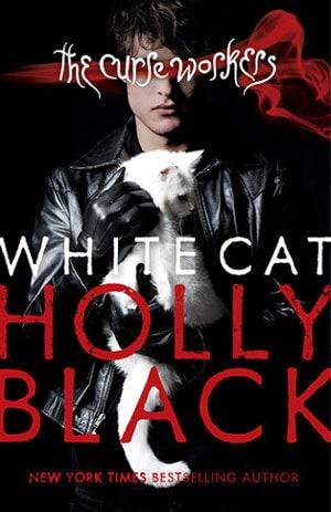 White Cat Holly Black