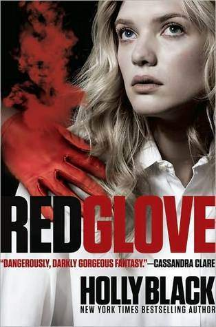 Red Glove Holly Black