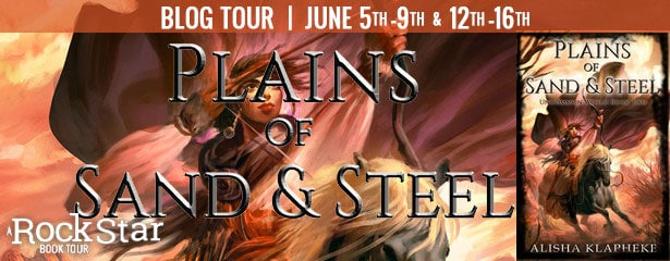 Plains of Sand and Steel Book Tour