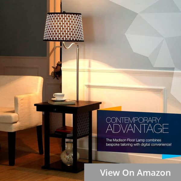 brightech madison floor lamp for bedroom