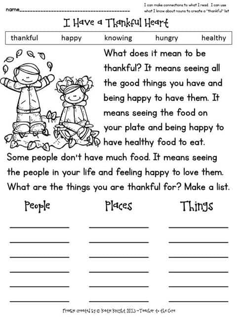Thanksgiving Activities and Worksheets