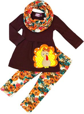 Thanksgiving clothes for the toddler girl