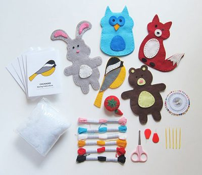 Woodland Animals Craft Kit