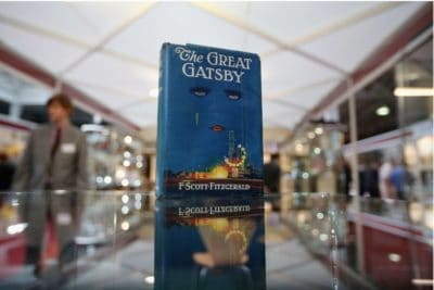 The Great Gatsby Book Display