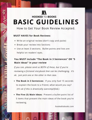 Basic Book Review Guidelines | Hooked to Books