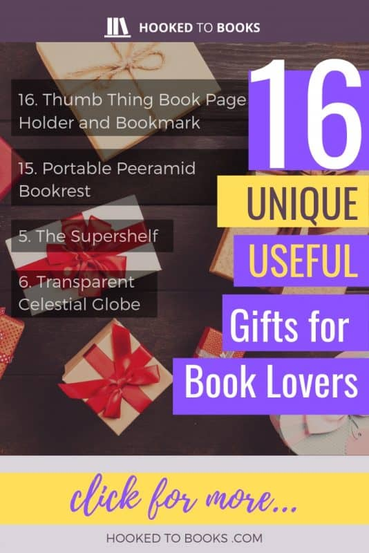 16 Unique and Useful Gifts for Book Lovers