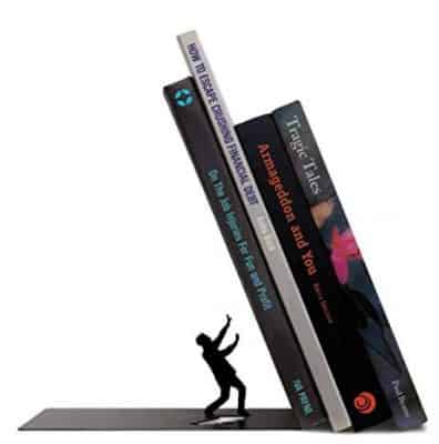 Fred THE END Dramatic Bookend