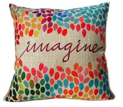 Imagine Inspirational Pillow