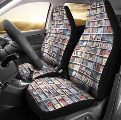 Library Nook Car Seat Cover