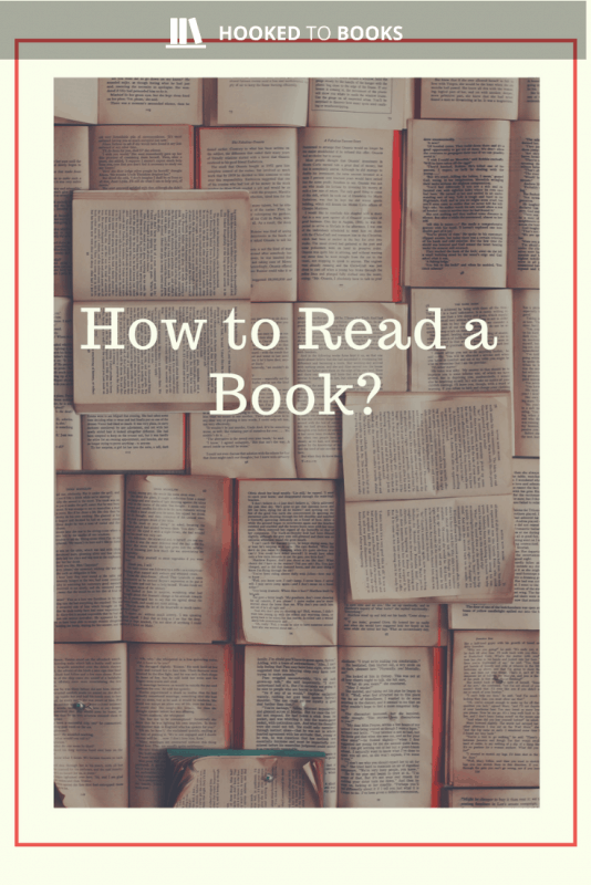 Picture How to read a book