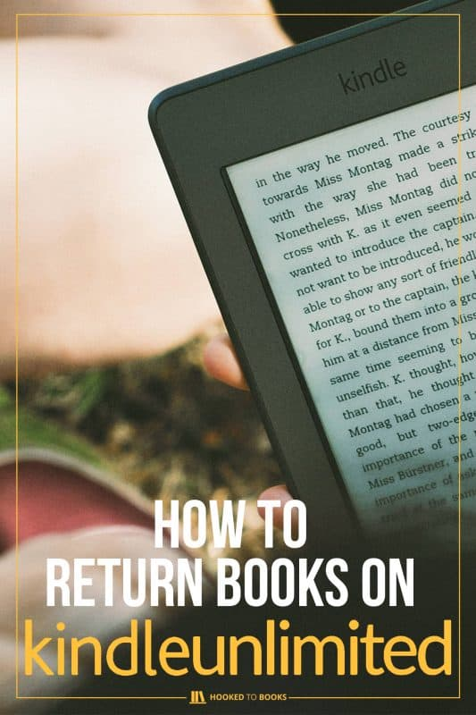 How to Return Books on Kindle Unlimited | Hooked to Books