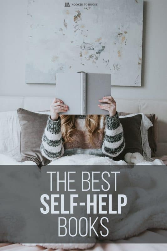 Woman reading one of the best self-help books