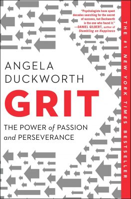 Grit: The Power of Passion & Perseverance by Angela Duckworth