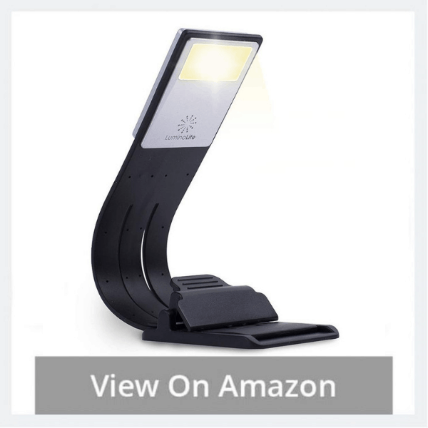 LuminoLite 3000K Warm LED Bookmark Book Light Reading Lights