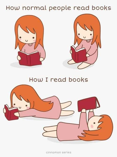 How I read books