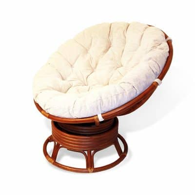 Papasan Swivel Chair