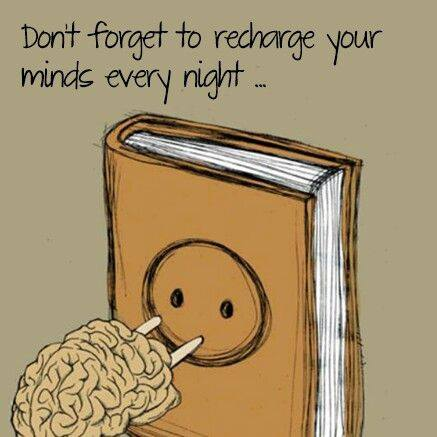 Recharge your mind every night
