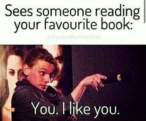 Sess someone reading your favorite