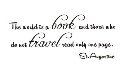 St. Augustine on how the world is a book