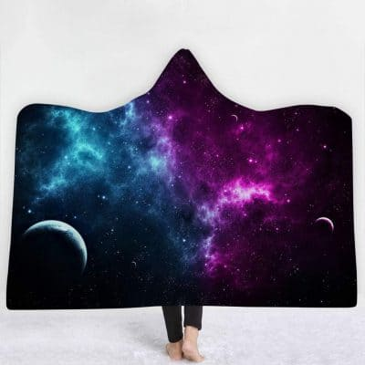 hooded galaxy cloak