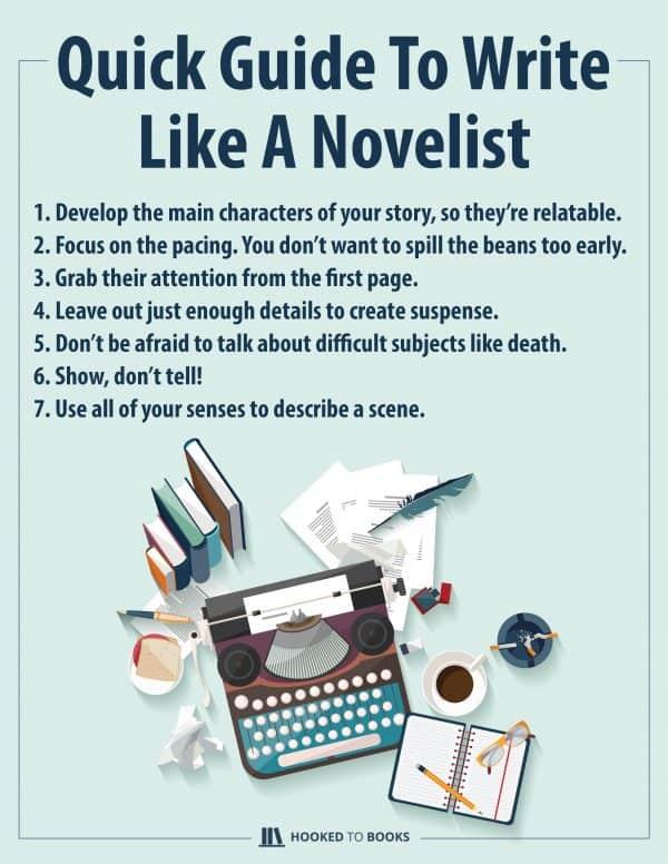 Quick Guide To Write Like a Novelist