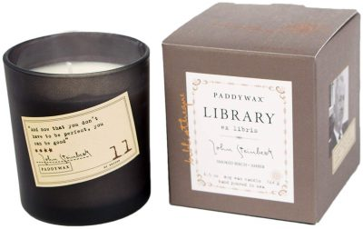 Paddywax Library Collection John Steinbeck Scented Soy Wax Candle