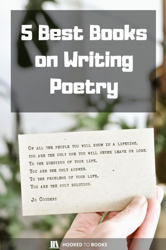 5 Best Books on Writing Poetry