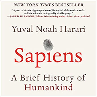Sapiens - A brief history of time by Yuval Noah Harari