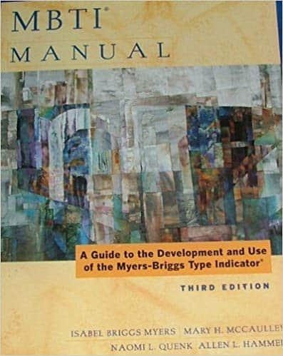 The MBTI® Manual: Third Edition