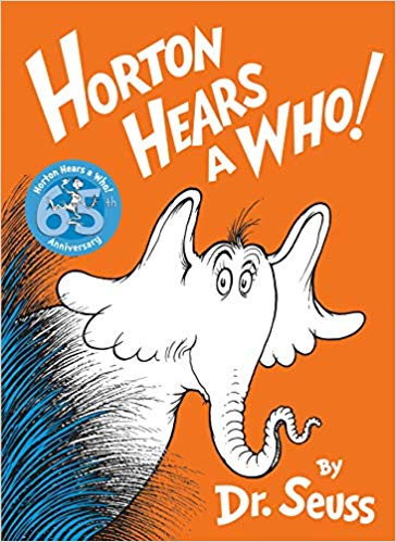 Most Popular Dr. Seuss Book Characters - horton hears a who