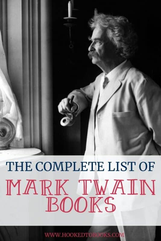Complete List of Mark Twain Books