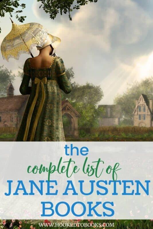The Complete List of Jane Austen Books