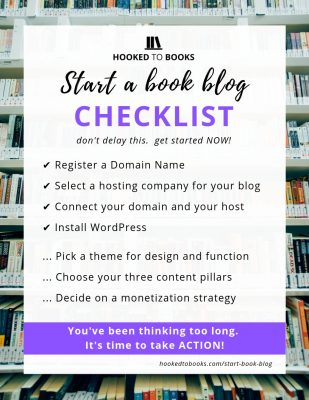 Start a Blog Checklist