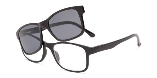 The Best Clip-On/Magnetic Reading Sunglasses: The Peace Polarized Magnetic Bifocal Reading Sunglasses