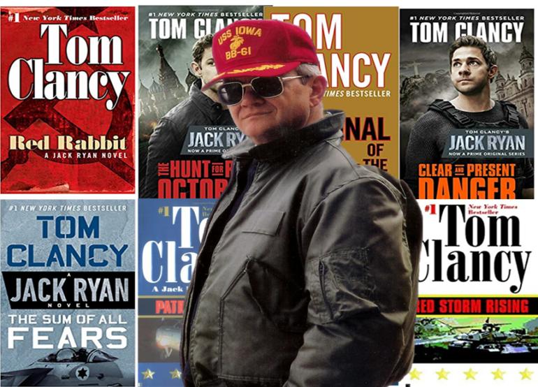 15 BEst Tom Clancy's Novel